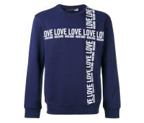 logo print sweatshirt - men - Baumwolle - XL