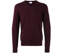 Wollpullover mit V-Ausschnitt - men - Wolle - 48