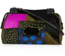 medium multi-pattern crossbody bag