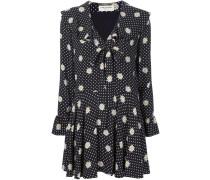 Kleid mit Gänsenblümchen-Print
