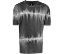 T-Shirt mit Farbverlauf-Streifen