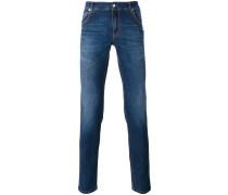 Schmale Jeans - men - Baumwolle/Elastodien - 50