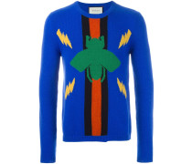 Pullover mit Käfermotiv