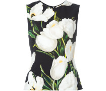 tulip print tank top
