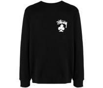 club logo crewneck sweatshirt