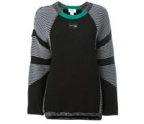 Pullover mit gestreiften Ärmeln - women