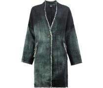 Mittellanger Mantel mit Farbverlauf