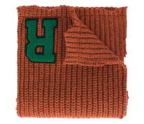 Wollschal mit Logo-Patch