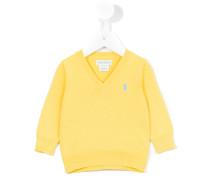 - Pullover mit Logo-Stickerei - kids - Baumwolle