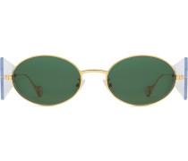 Runde 'Side Note' Sonnenbrille