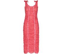 'Severine' Kleid mit Vichy-Karomuster