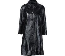 - Einreihiger Mantel - women - Baumwolle - 4