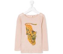 'Panther' Leinen-T-Shirt