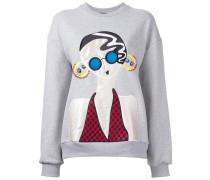 'Lady' Sweatshirt mit Patch