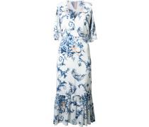 Kleid mit tief sitzender Taille