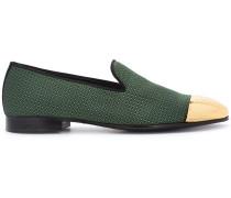 Loafer mit Kontrastkappe