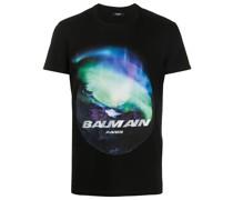 "T-Shirt mit ""Northern Lights""-Print"