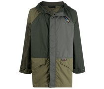 Parka im Patchwork-Look
