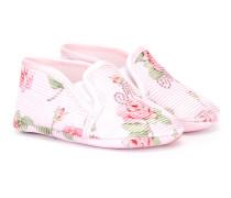 Babyschuhe mit floralem Print