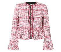 cropped boucle jacket