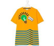 T-Shirt mit Glühbirnen-Print - kids