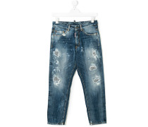 Teen distressed jeans