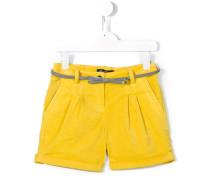 bow belt shorts