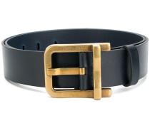 large buckled belt