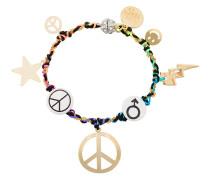 Peace Charm Bracelet
