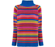 'Crazy Stripe Highland' Pullover