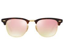 'Clubmaster' Sonnenbrille - men - Acetat