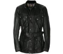 buckle belt jacket
