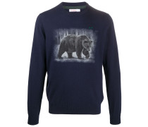 Pullover mit Bären-Print