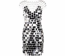 Schmales Kleid mit Pailletten