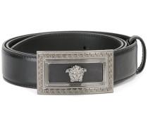 Medusa rectangular buckle belt