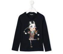 Sweatshirt mit Mädchen-Print