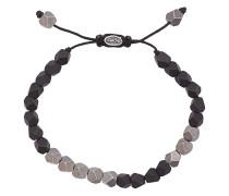 Armband mit Perlen aus Sterlingsilber und Onyx