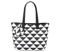 Shopper mit geometrischem Muster - women