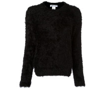 Pullover mit Pelz-Optik