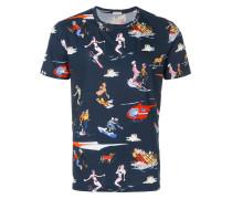 character print T-shirt
