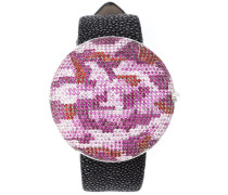 'Clou' Armbanduhr mit Camouflage-Design