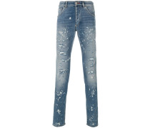 Wait straight-leg jeans