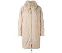 Mantel mit Pelzkragen - women