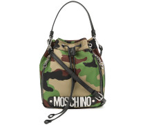 camouflage bucket bag