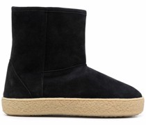shearling-lined ankle boots