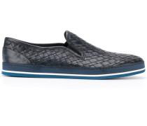 Gewebte Loafer - men - Kalbsleder/Leder/rubber
