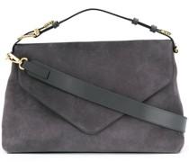 buckle-handle tote bag