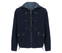 reversible knitted jacket