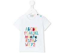 T-Shirt mit Buchstaben - kids - Baumwolle - 3 M.