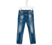 Jeans mit Farbspritzern